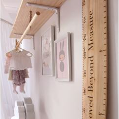 ruler height chart nursery decor-min